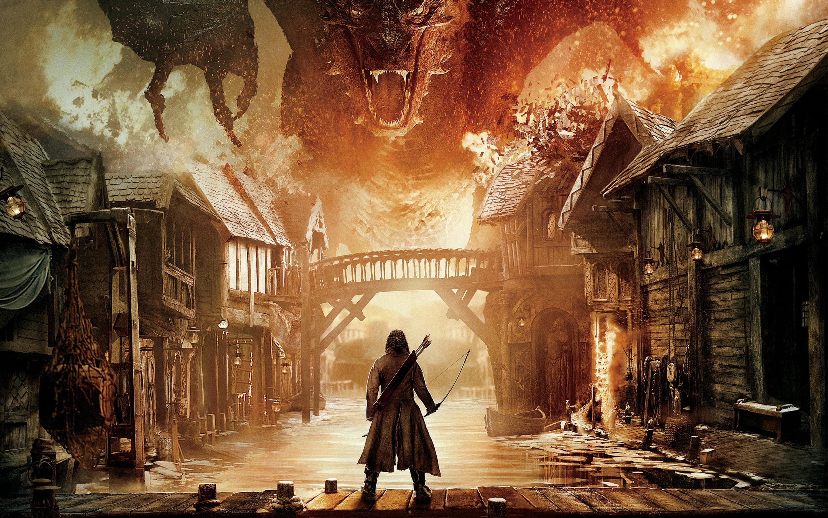The Hobbit the Battle of the Five Armies wallpaper 2 2880x1800