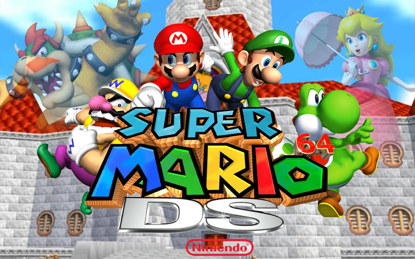 50+] Super Mario 64 Wallpaper on WallpaperSafari