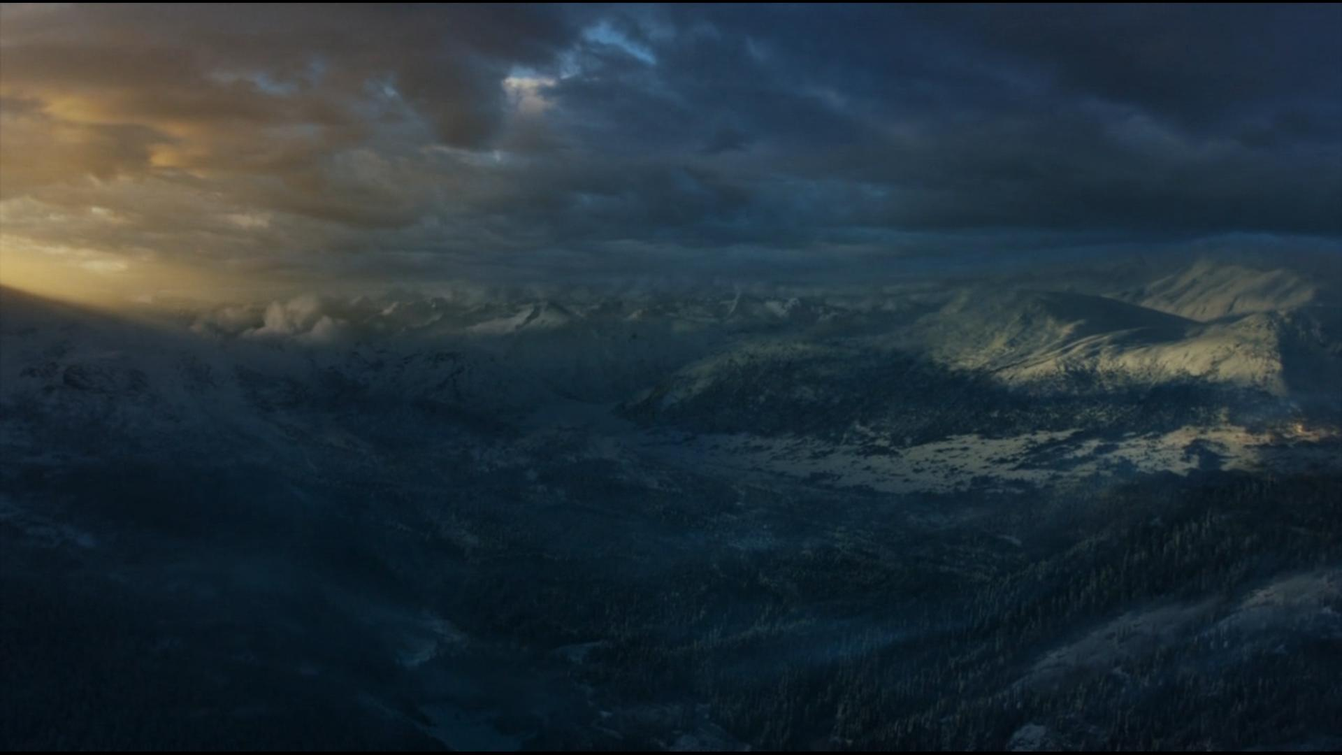 Looking North over the Wall from Game of Thrones Season 3 Episode 6 1920x1080