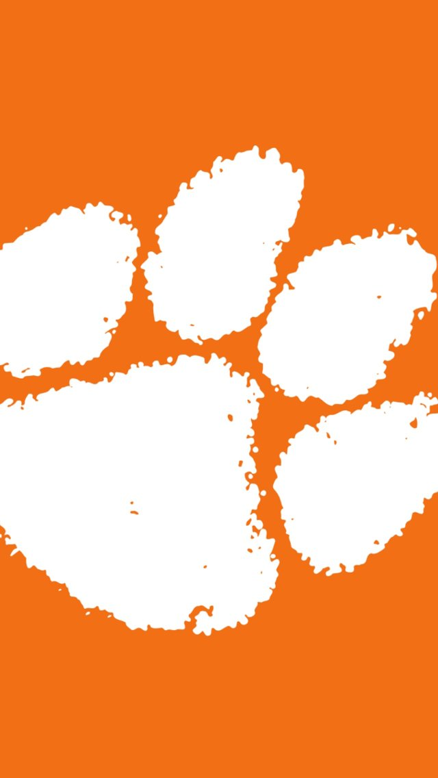 Clemson Tigers Wallpaper for iPhone 5 640x1136