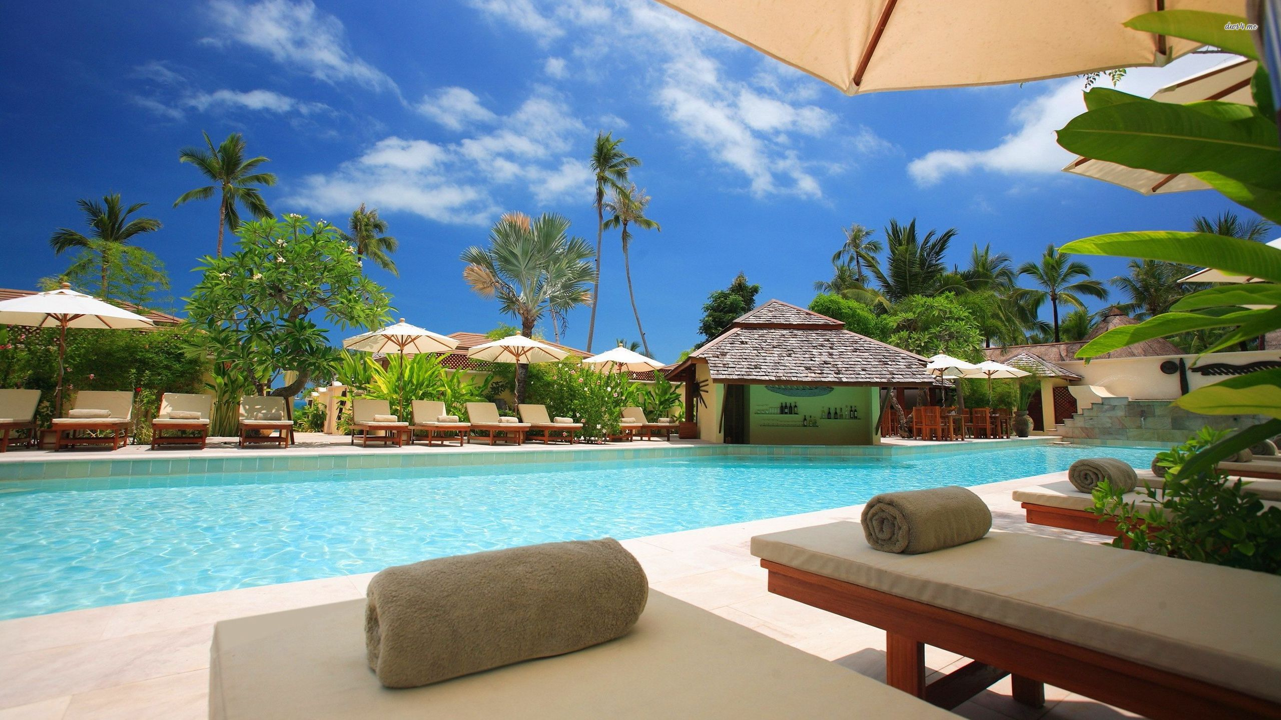 tropical resorts wallpaper background - photo #8