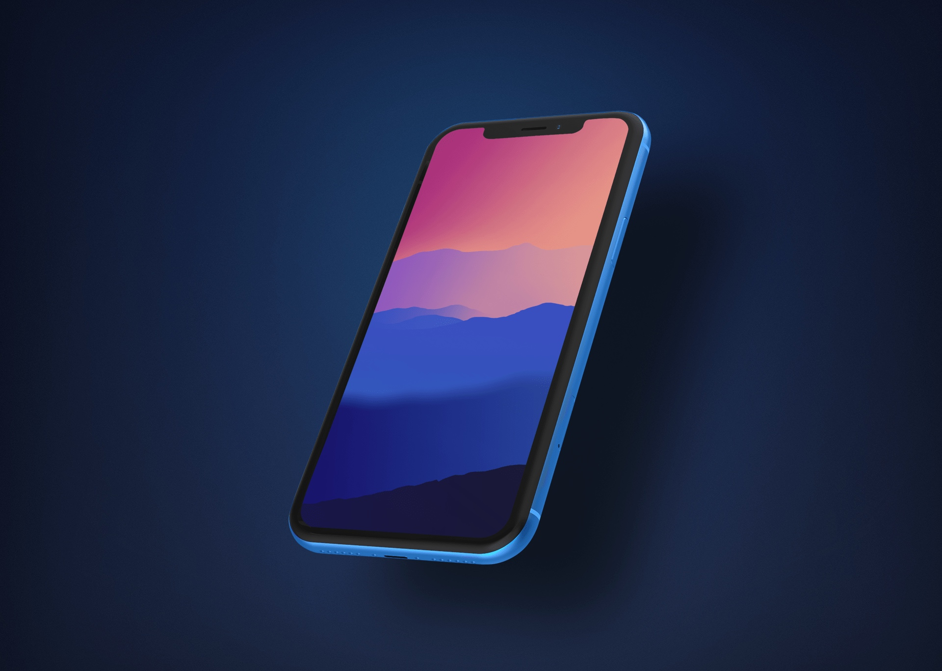 Wallpapers of the week sunset mountains 1920x1368