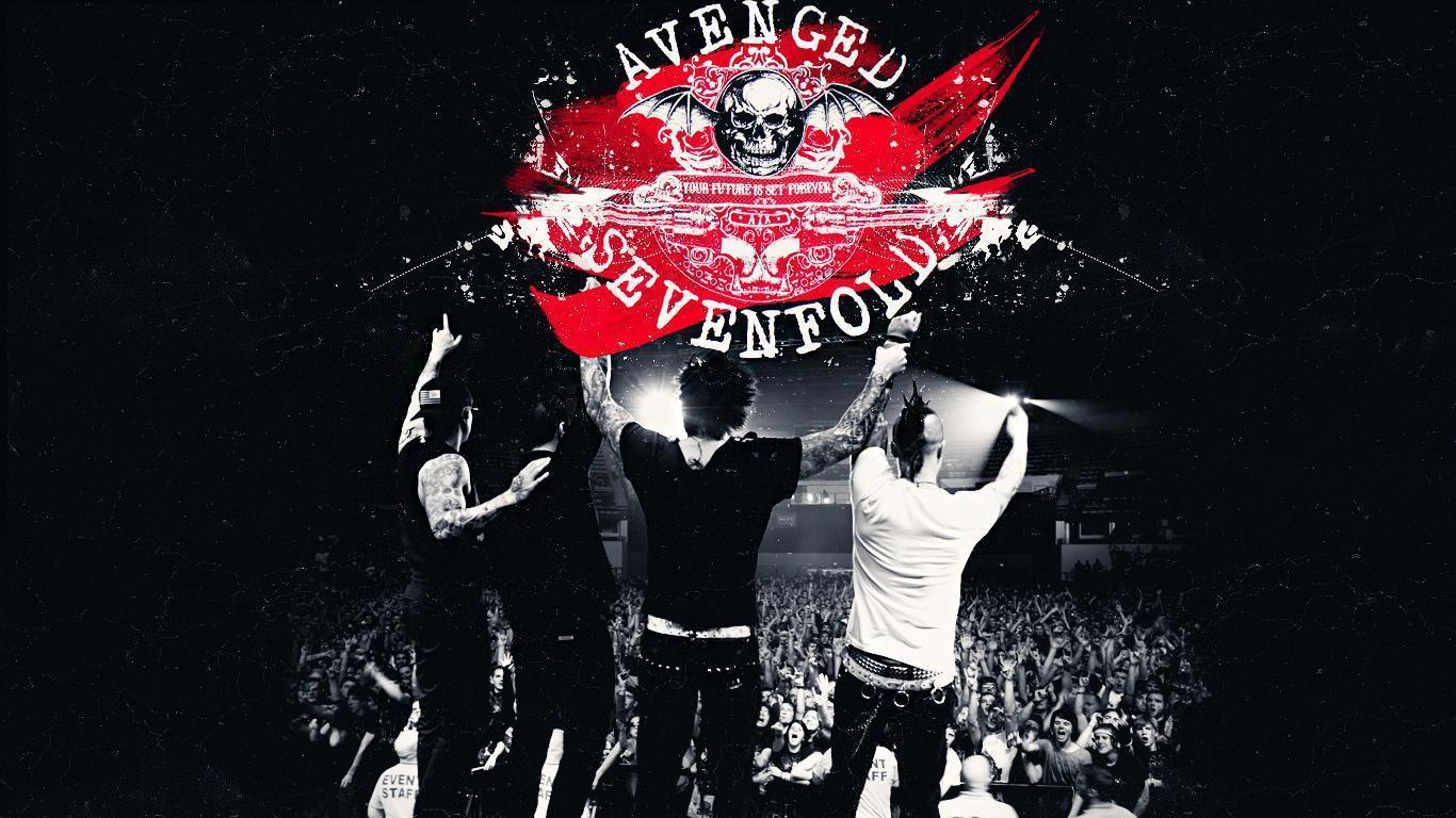 Avenged Sevenfold Backgrounds 1366x768