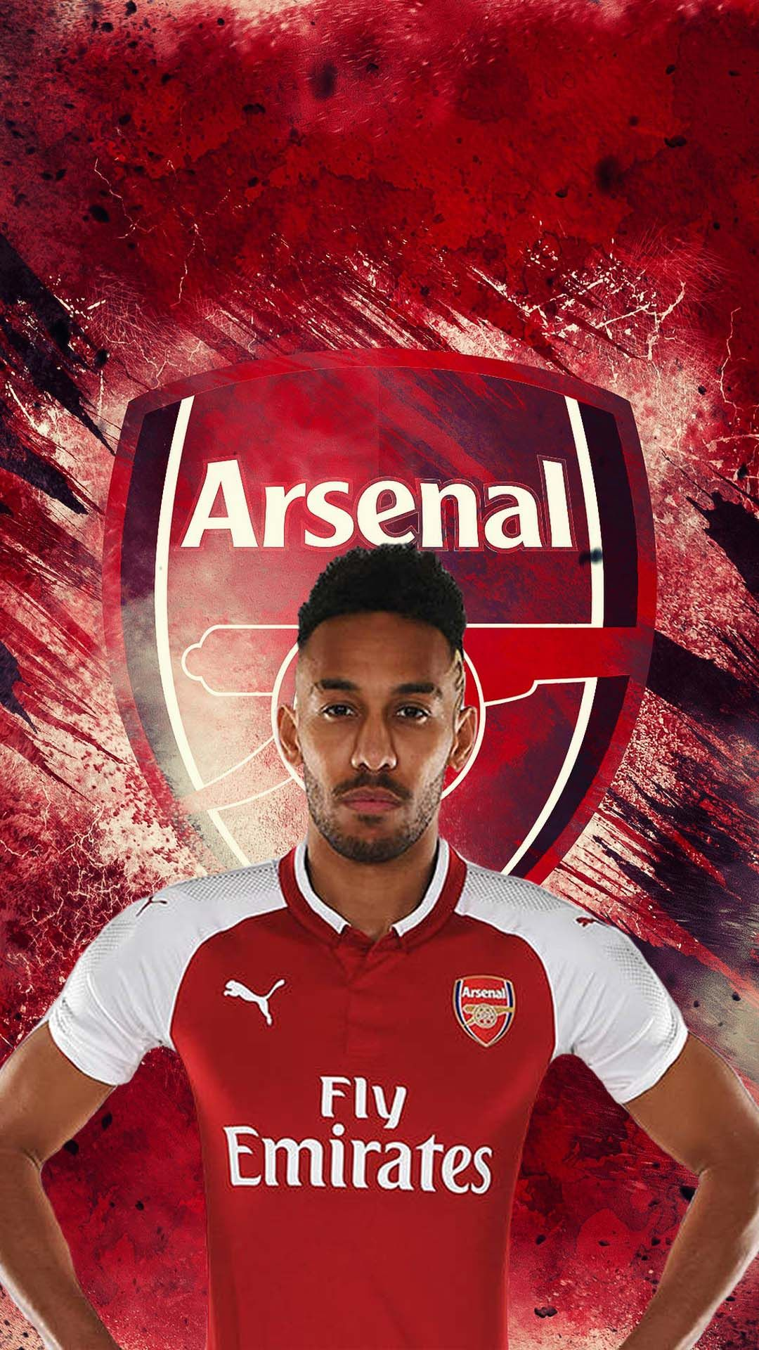 Pierre Emerick Aubameyang Arsenal iPhone Wallpaper Futbolcular 1080x1920