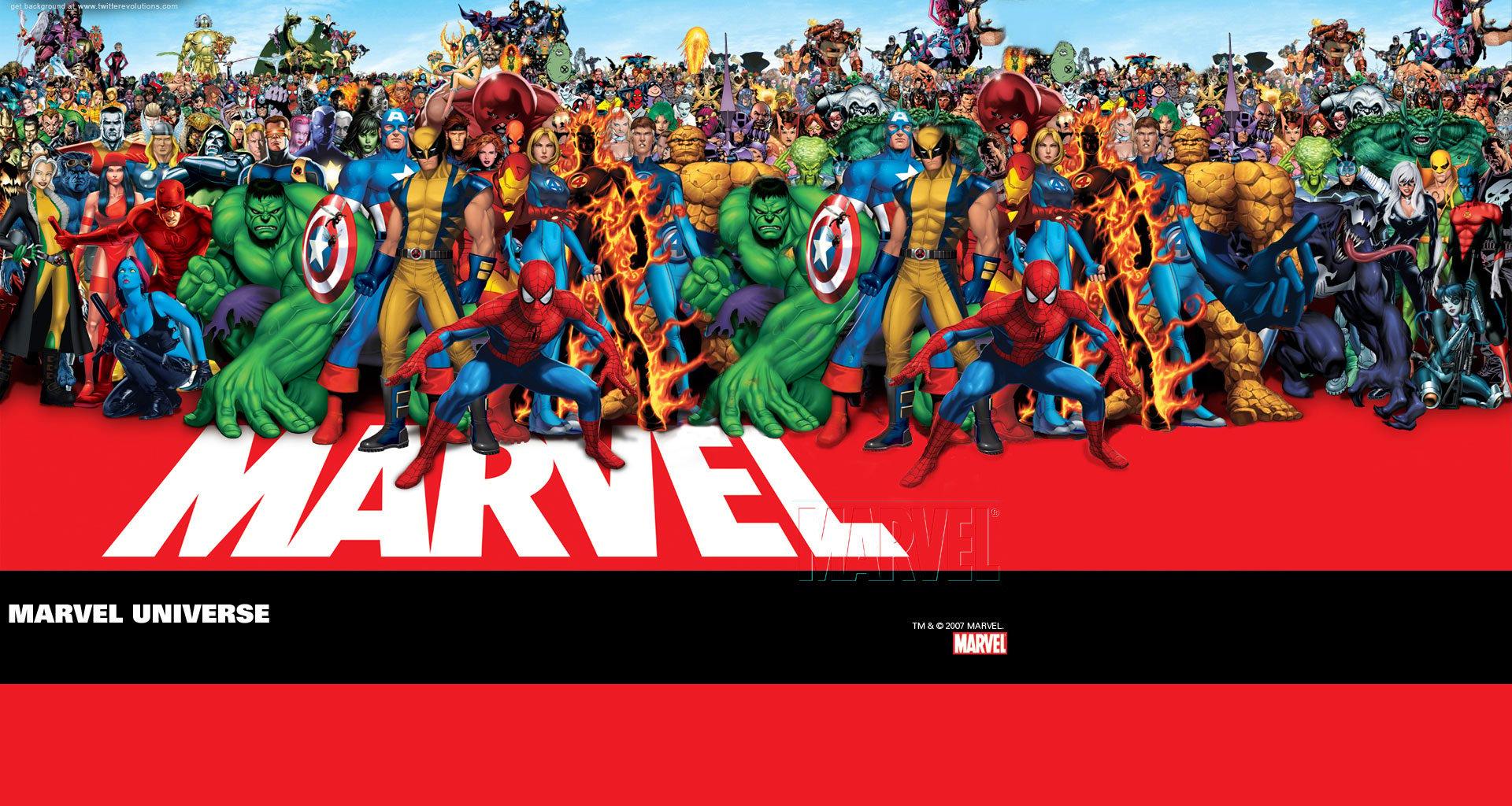 All marvel characters wallpaper wallpapersafari - All marvel heroes wallpaper ...