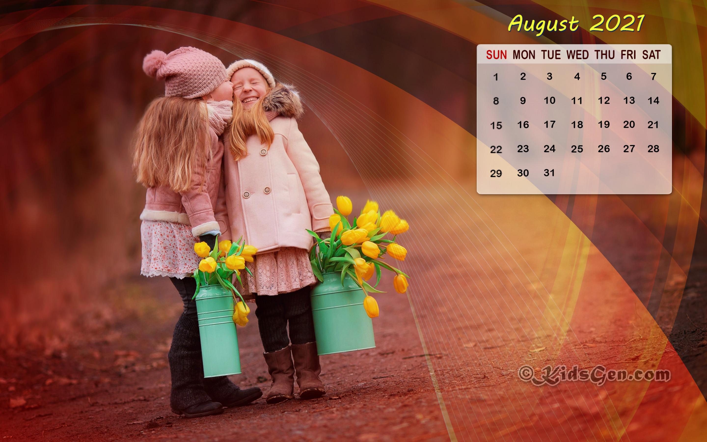 August Calendar Wallpaper   2021 2880x1800