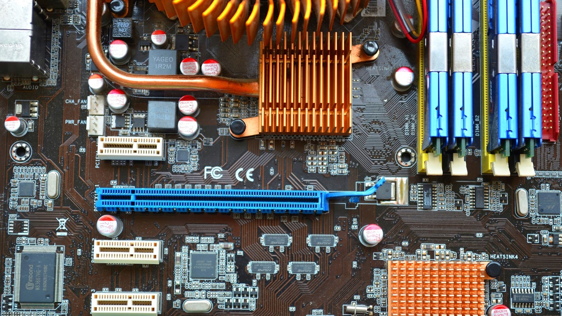 7 Motherboard HD Wallpapers Background Images 1920x1080