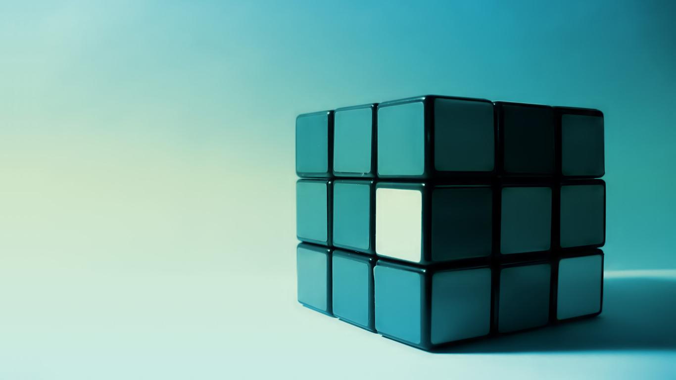 Color Blind Rubik 39 s Cube 1366x768