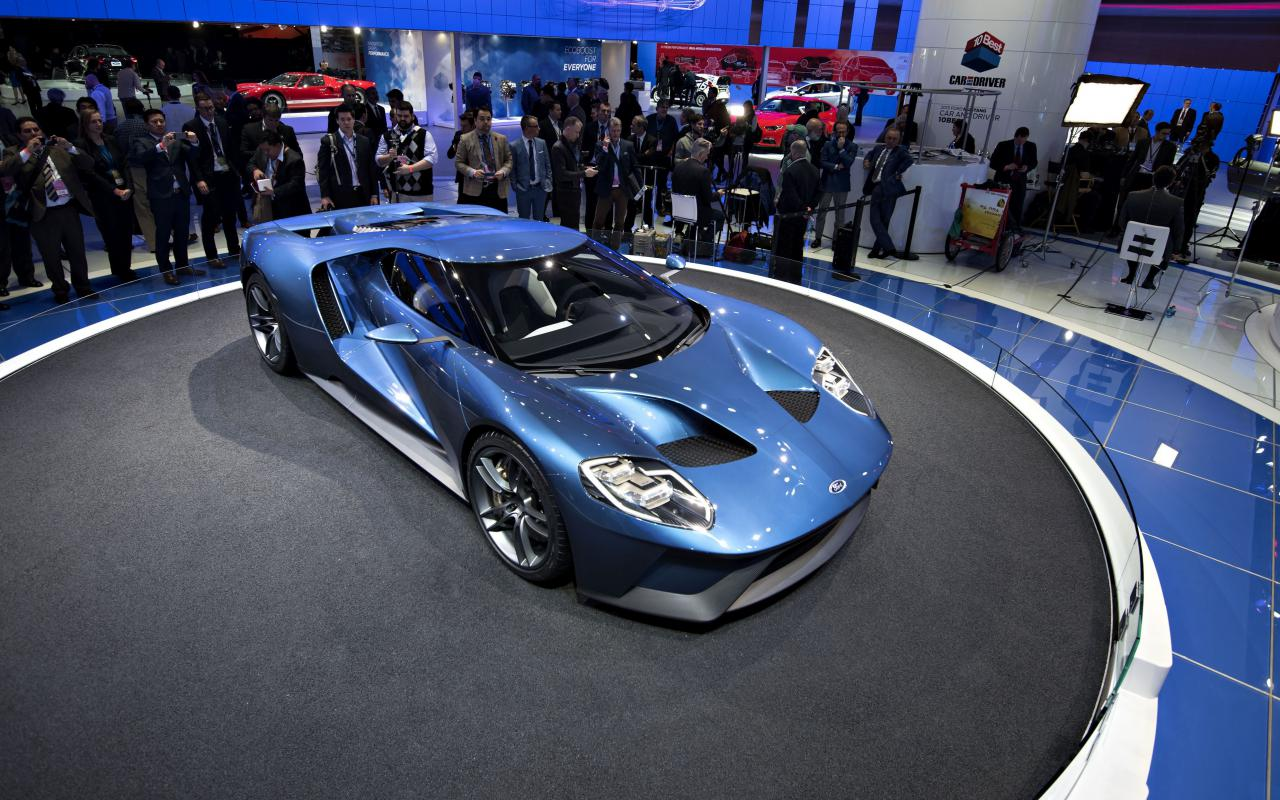The 2017 Ford GT For Sports Car Wallpaper At 2015 North American 1280x800