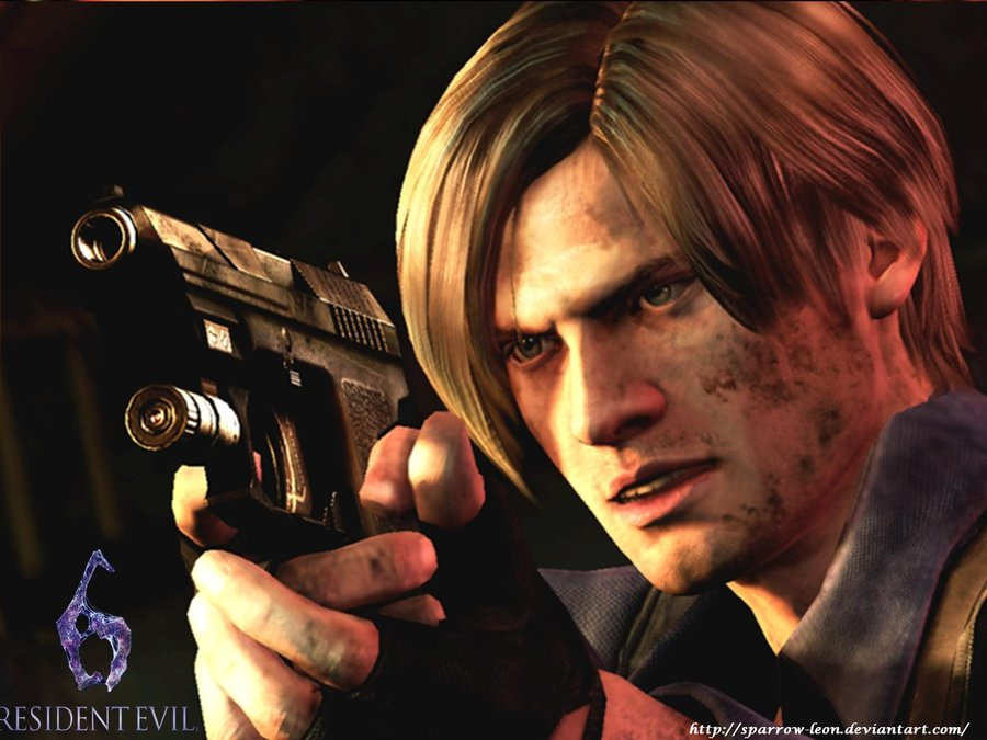 Free Download Leon Re6 Wallpaper By Sparrow Leon 900x675 For