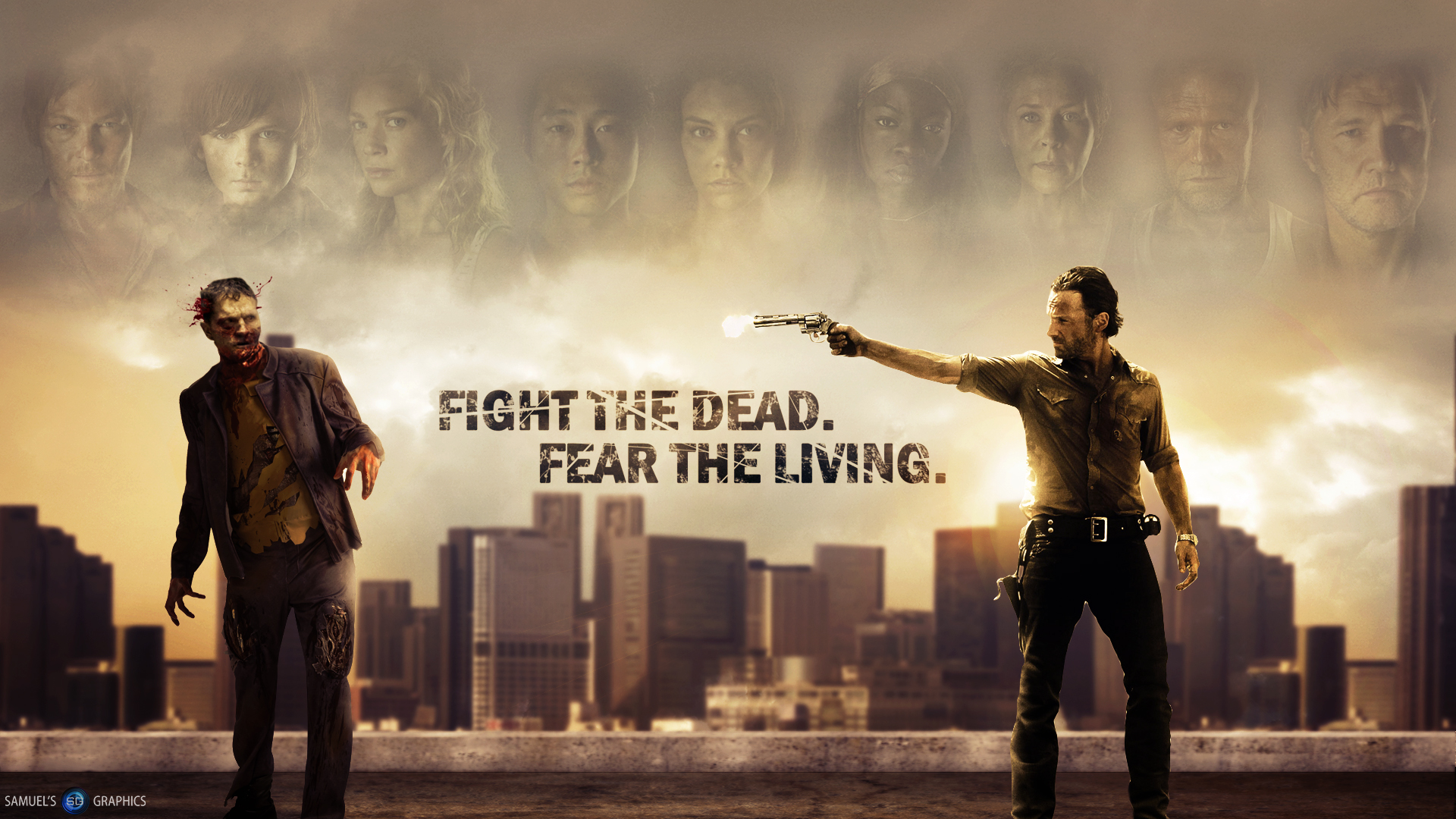 The Walking Dead HD Wallpapers for desktop download 1920x1080