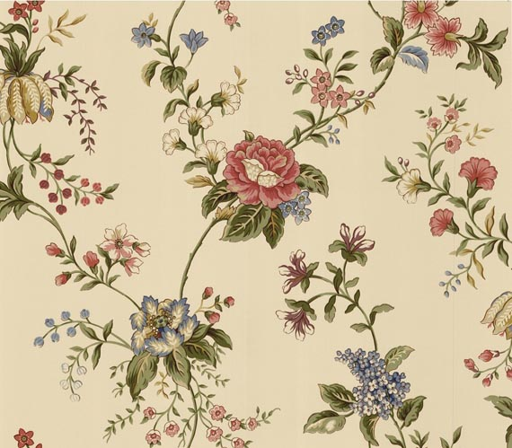 Pretty Floral Wallpaper Ideas for Wonderful Interior Decorating 570x499