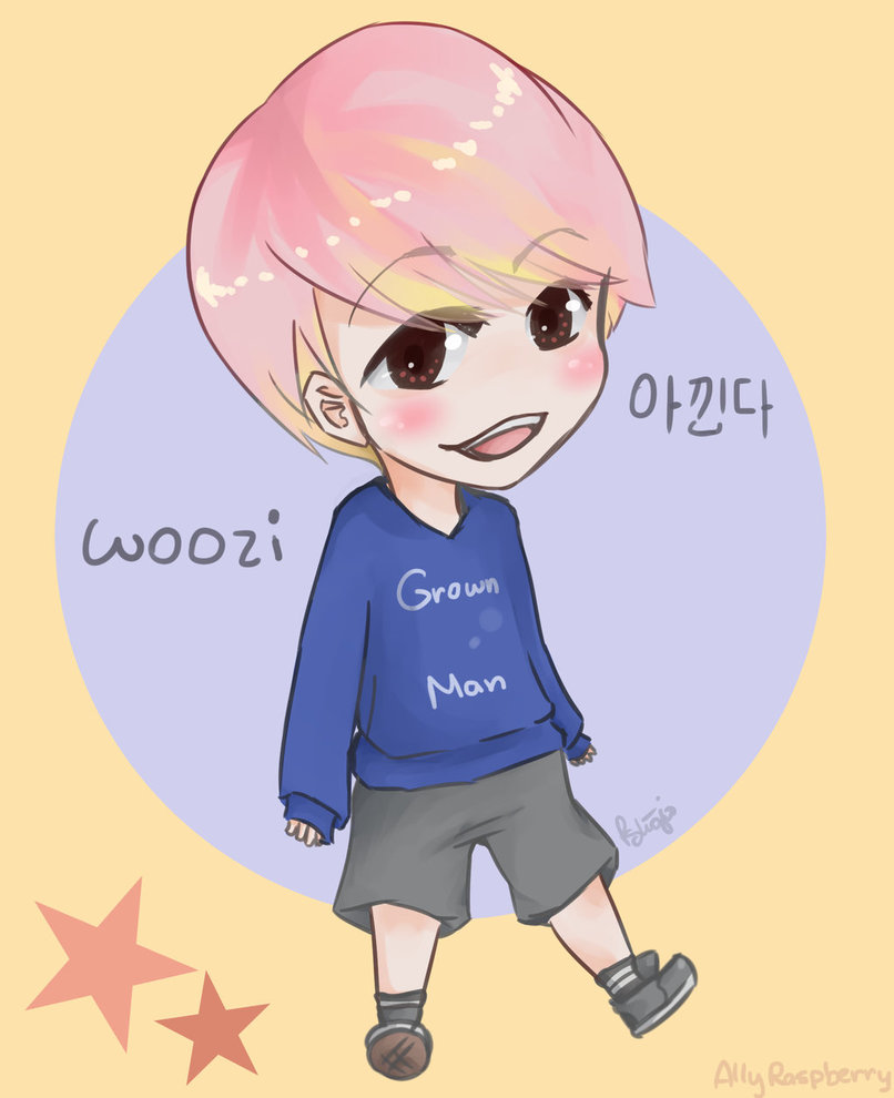 Woozi Seventeen by PotatoShojo 806x990
