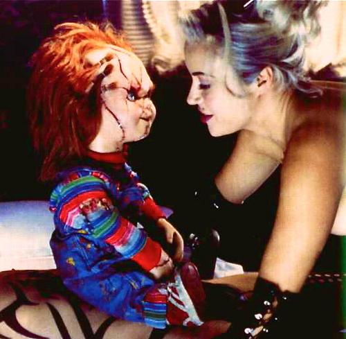 Chucky Wallpapers: Chucky And Tiffany Wallpaper