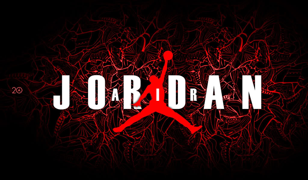34 HD Air Jordan Logo Wallpapers For Download 1024x600