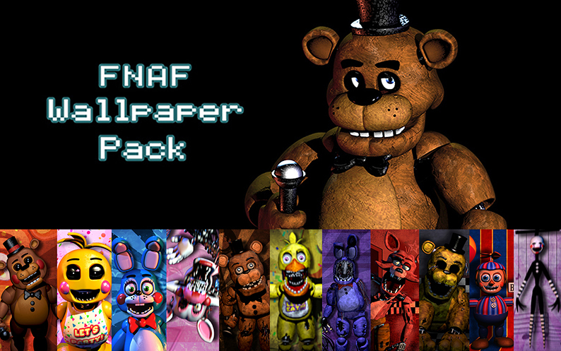 FNAF Wallpaper Pack by xquietlittleartistx 794x497