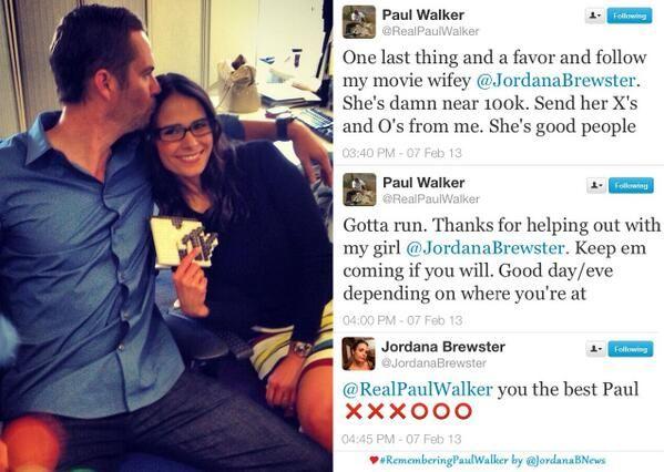 Paul Walker Pablo: Paul Walker Jordana Brewster Wallpapers