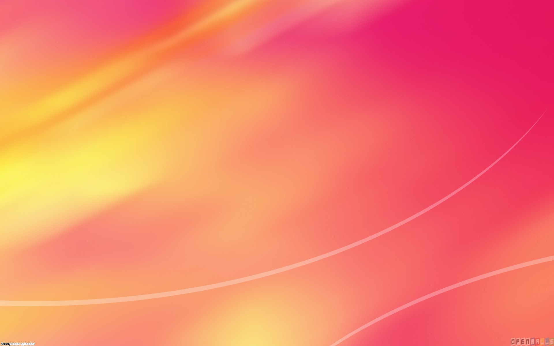 Pink and orange wallpaper 4706   Open Walls 1920x1200