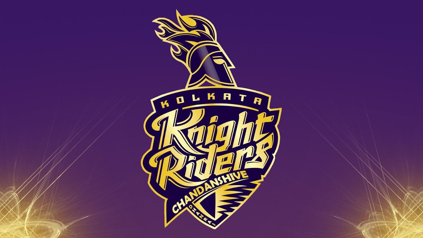 KKR KOLKATA KNIGHT RIDERS NEW LOGO kkr kolkata knight riders new logo 1600x900
