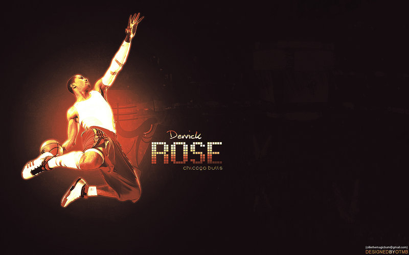 Derrick Rose Wallpaper by markymark1989 800x500