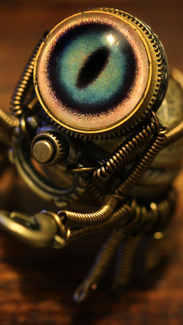 Steampunk Crab Wallpaper   iPhone Wallpapers 640x1136