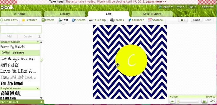 Make Your Own Monogram Desktop Wallpaper My style Pinterest 736x357