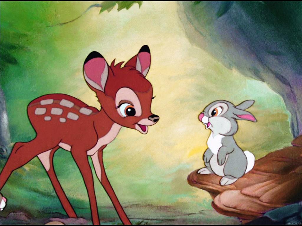 Bambi Disney 12 Fonds dcran HD Fonds dcran dordinateur Fond 1024x768