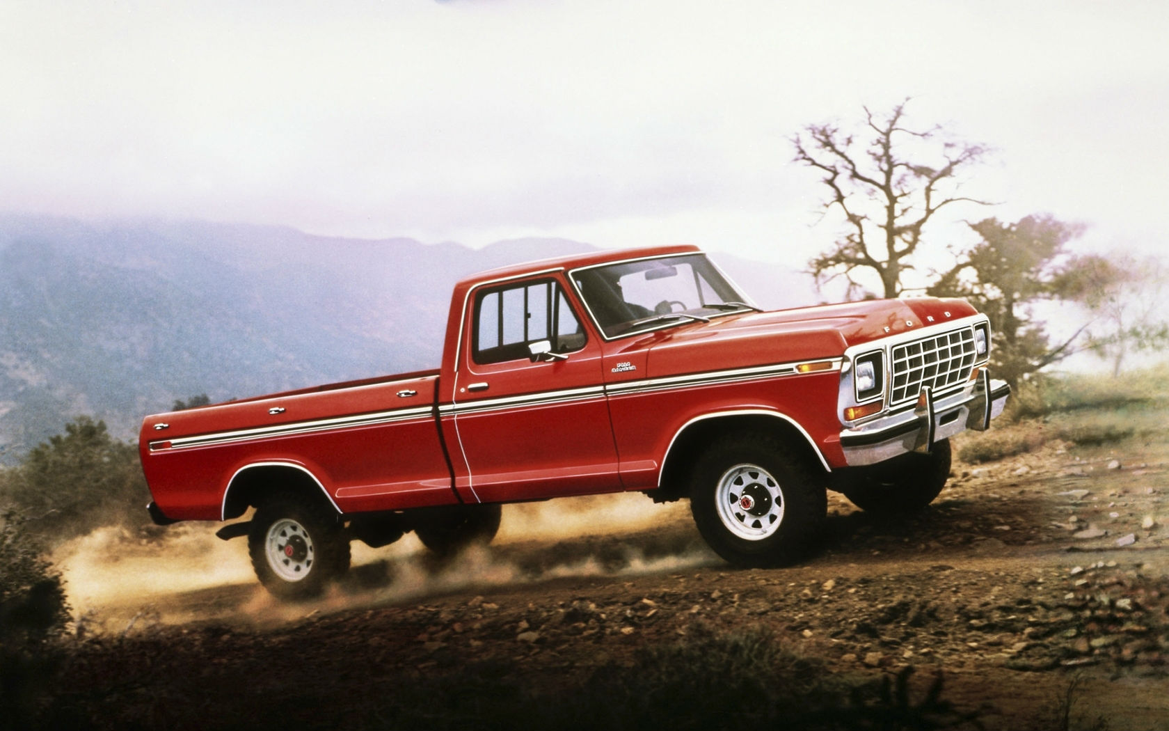 Ford F 150 1978 Ranger Car Wallpaper   HD 1680x1050