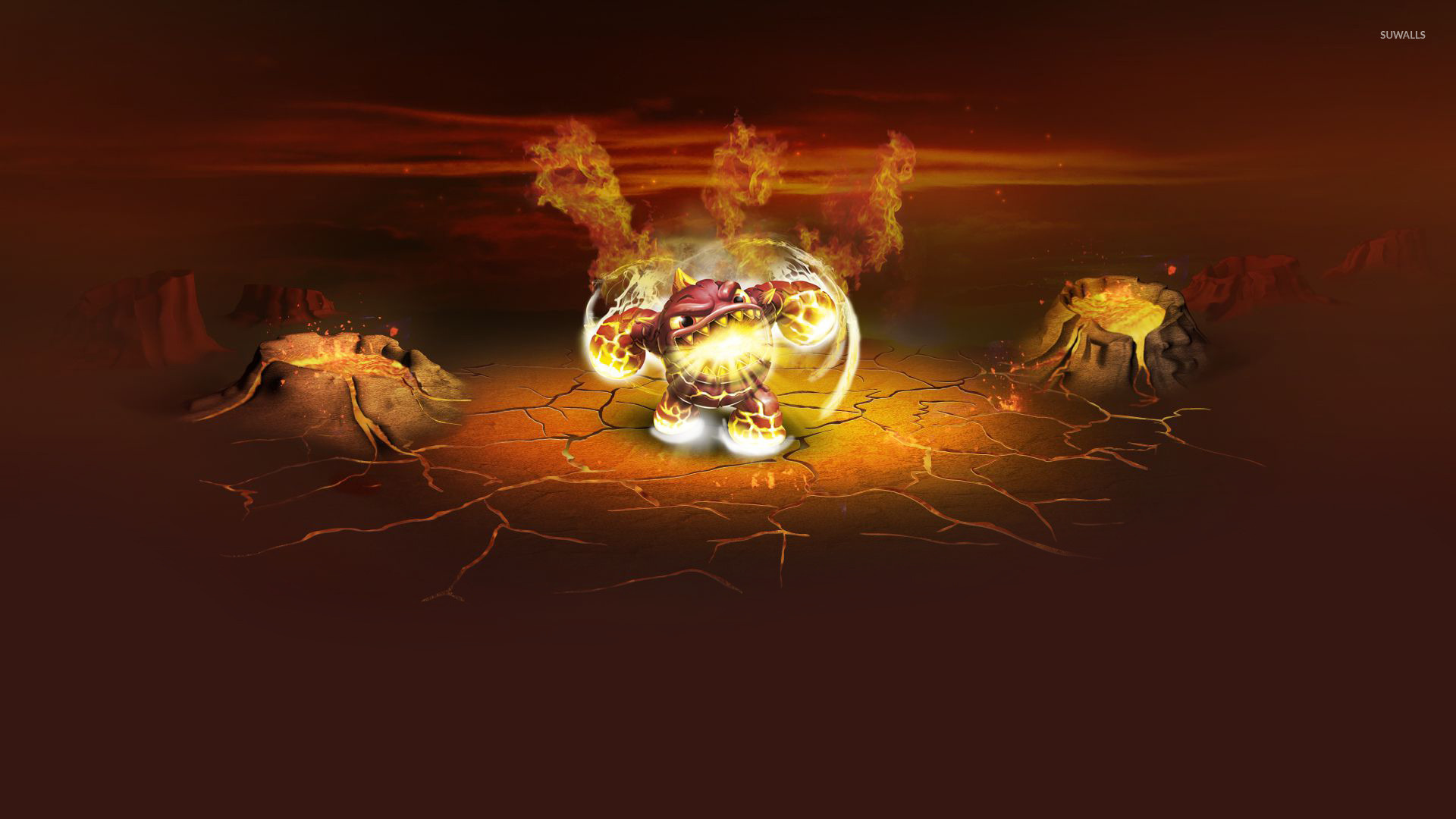Eruptor   Skylanders Giants wallpaper   Game wallpapers   21501 1680x1050