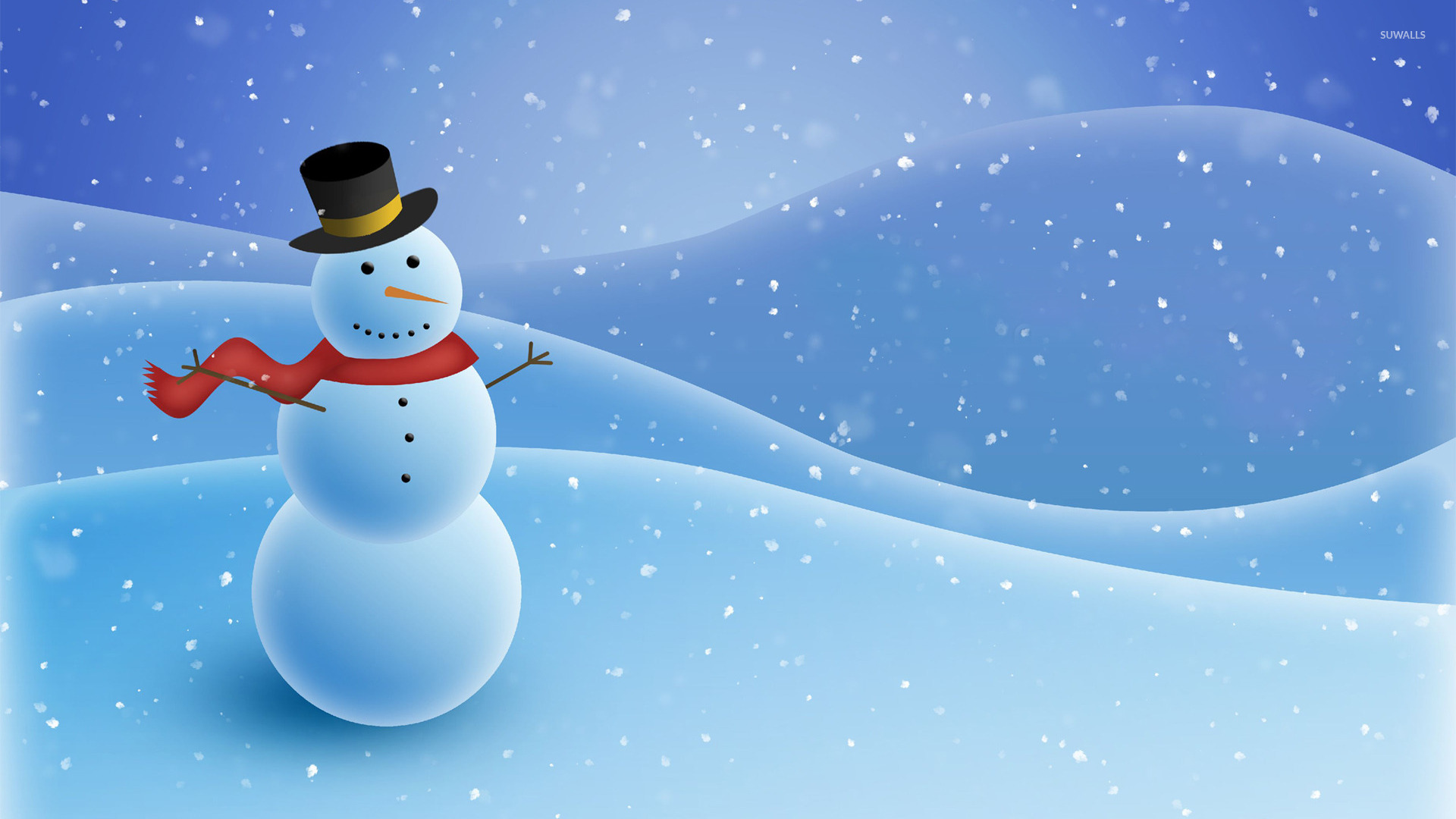 Snowman [3] wallpaper   Holiday wallpapers   23584 1920x1080