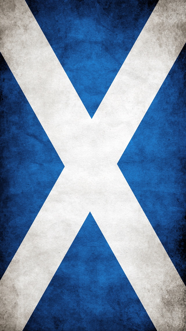 Scottish Flag iPhone 6 6 Plus and iPhone 54 Wallpapers 640x1136