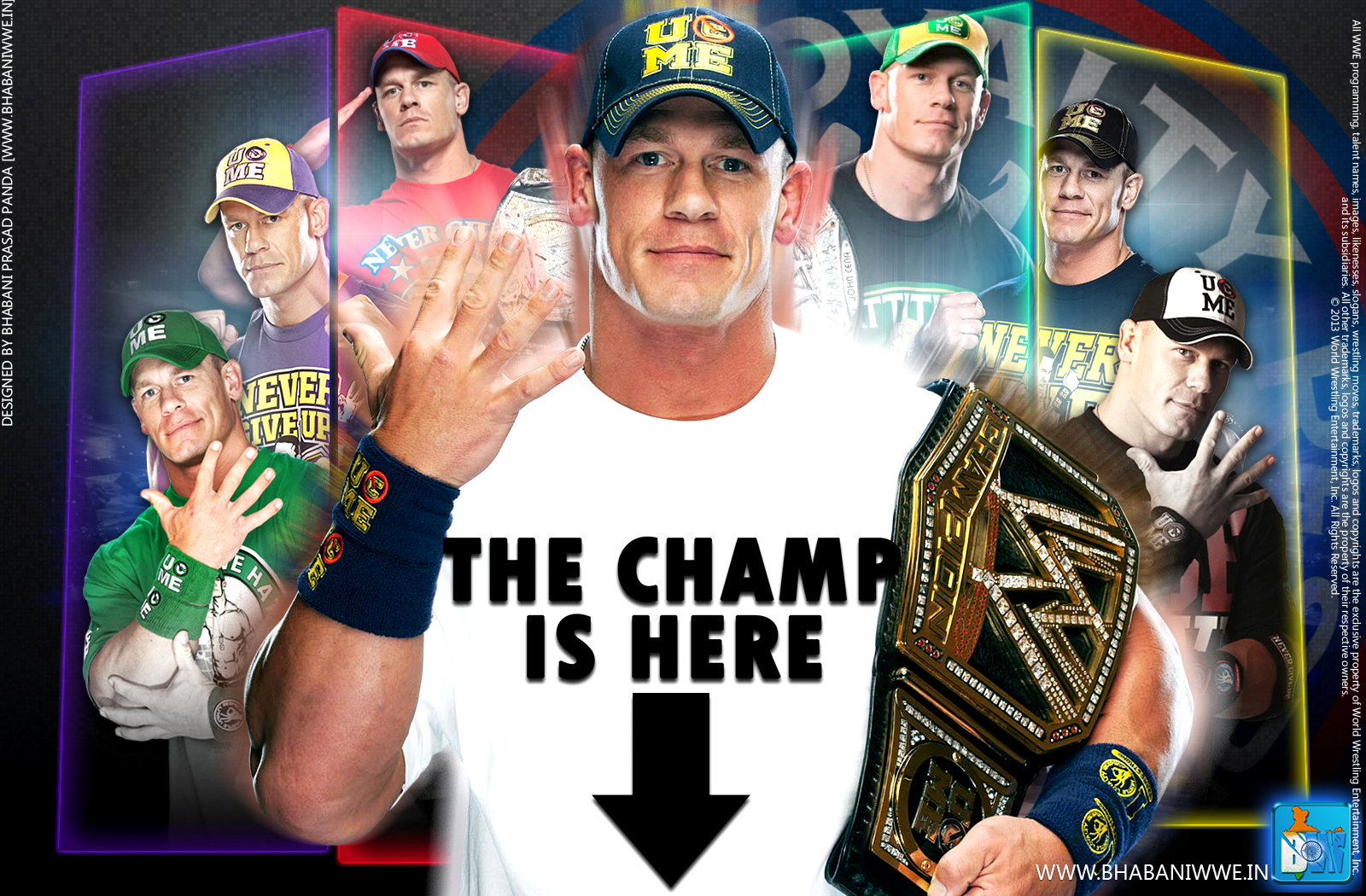 John Cena Wallpaper 2013 World Heavyweight Champion Download