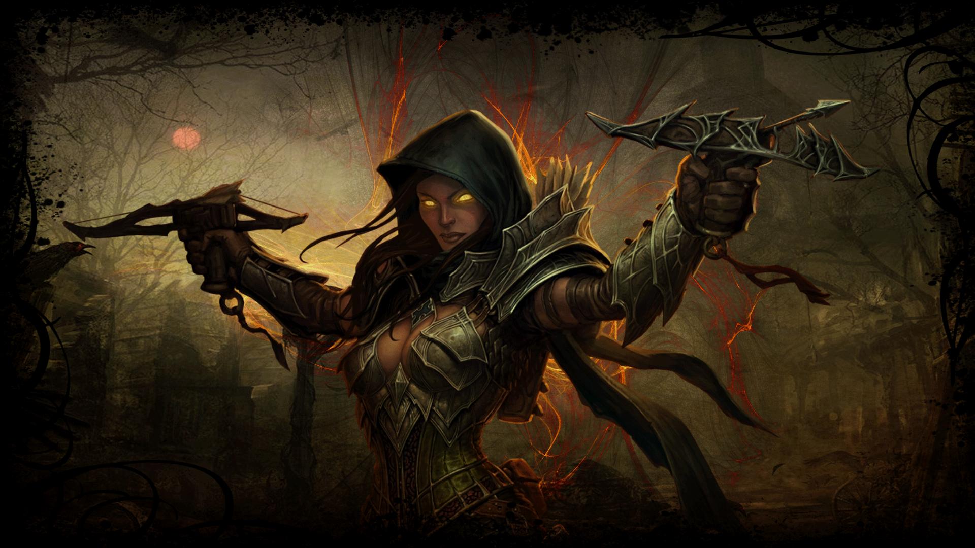 Demon Hunter Diablo 3  № 1892537 без смс