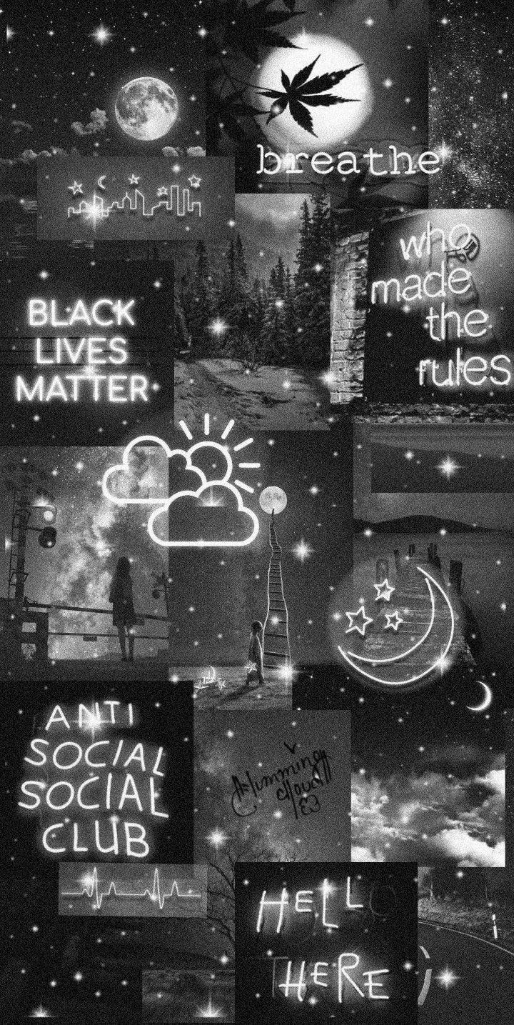 BLACK AESTHETIC Black aesthetic wallpaper Black glitter 720x1435