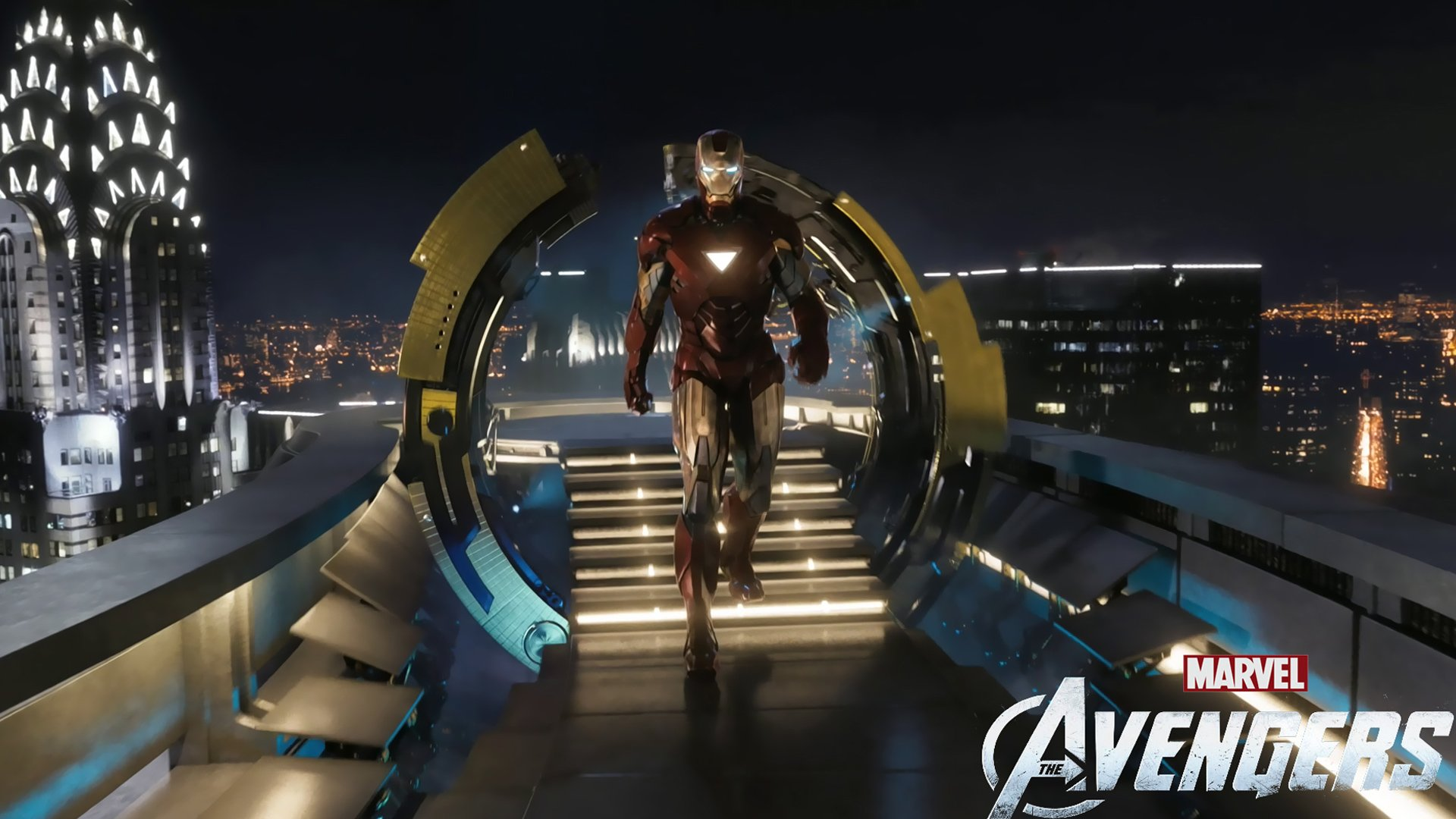 Iron Man in The Avengers Movie Wallpapers HD Wallpapers 1920x1080