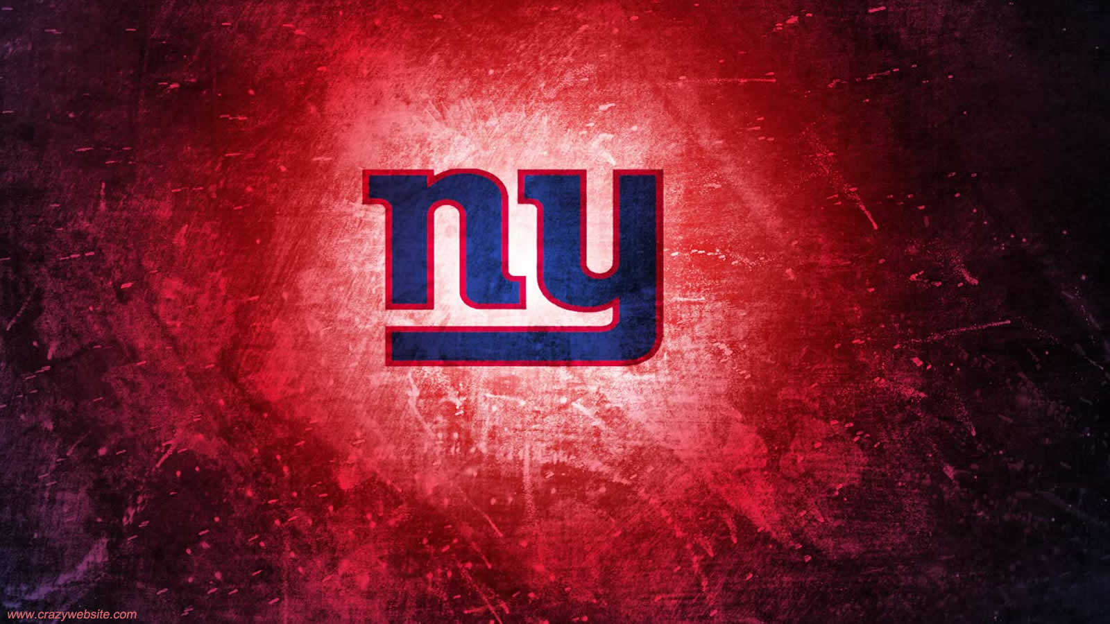 New York Giants team logo computer desktop background wallpaper click 1600x900
