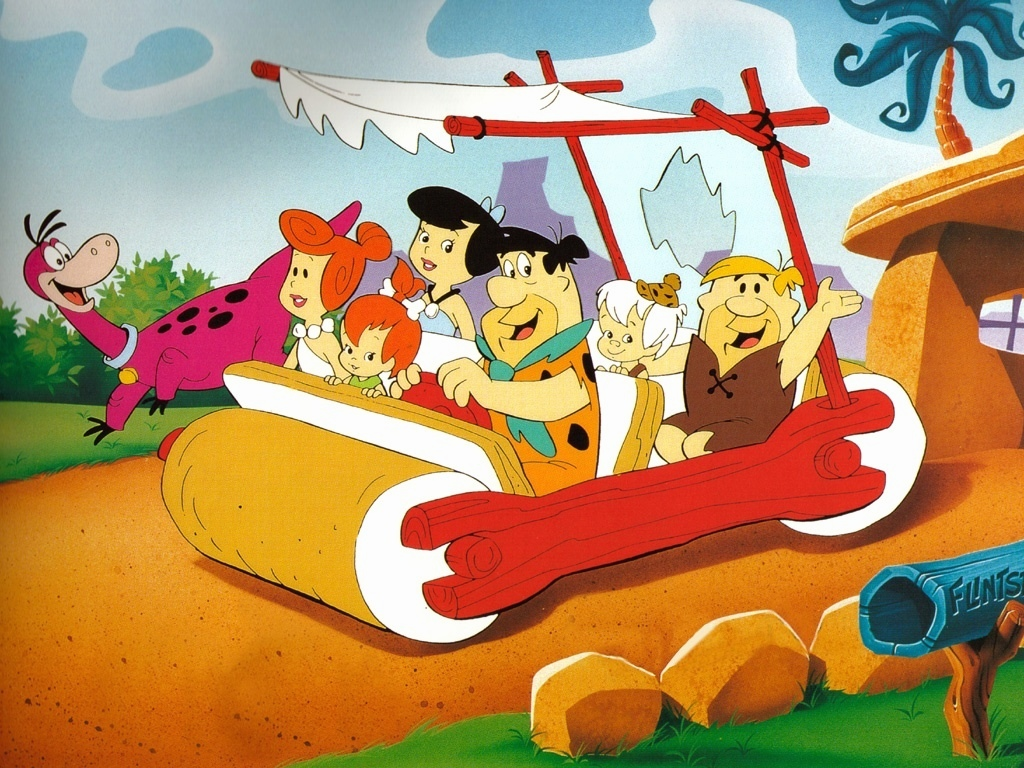 The Flintstones desktop wallpaper 1024 x 768 pixels 1024x768