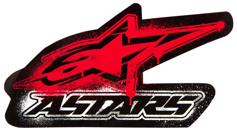 Alpinestars Sticker Rad BlackRed   10cm Maciag Offroad 1500x838