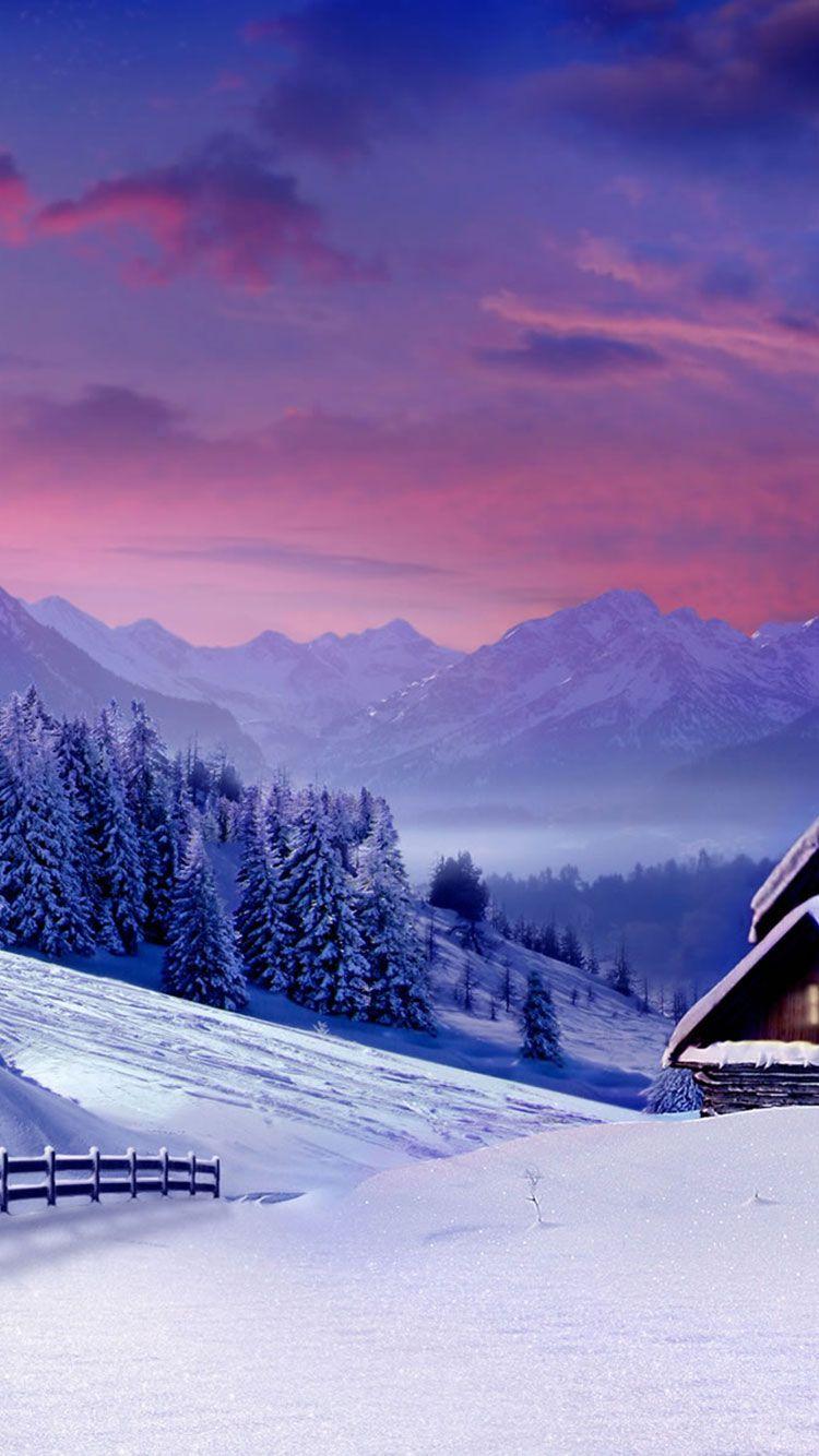 25 Winter iPhone Wallpapers Iphone wallpaper winter Winter 750x1334
