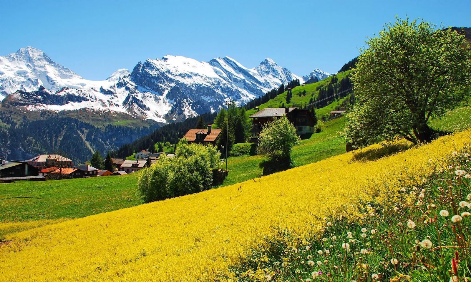 Switzerland HD Wallpapers - WallpaperSafari