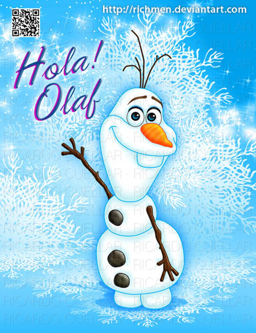 Hola Olaf Frozen Disney by Richmen 524x681