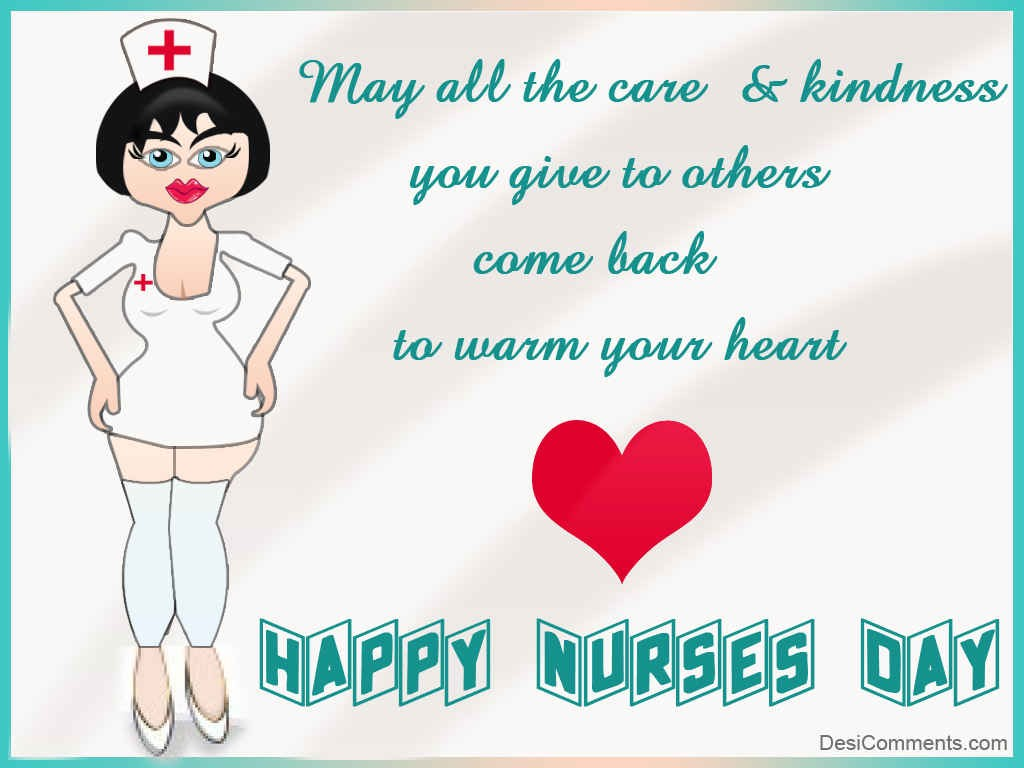 30 Most Beautiful Nurses Day Wish Picture And Images 1024x768