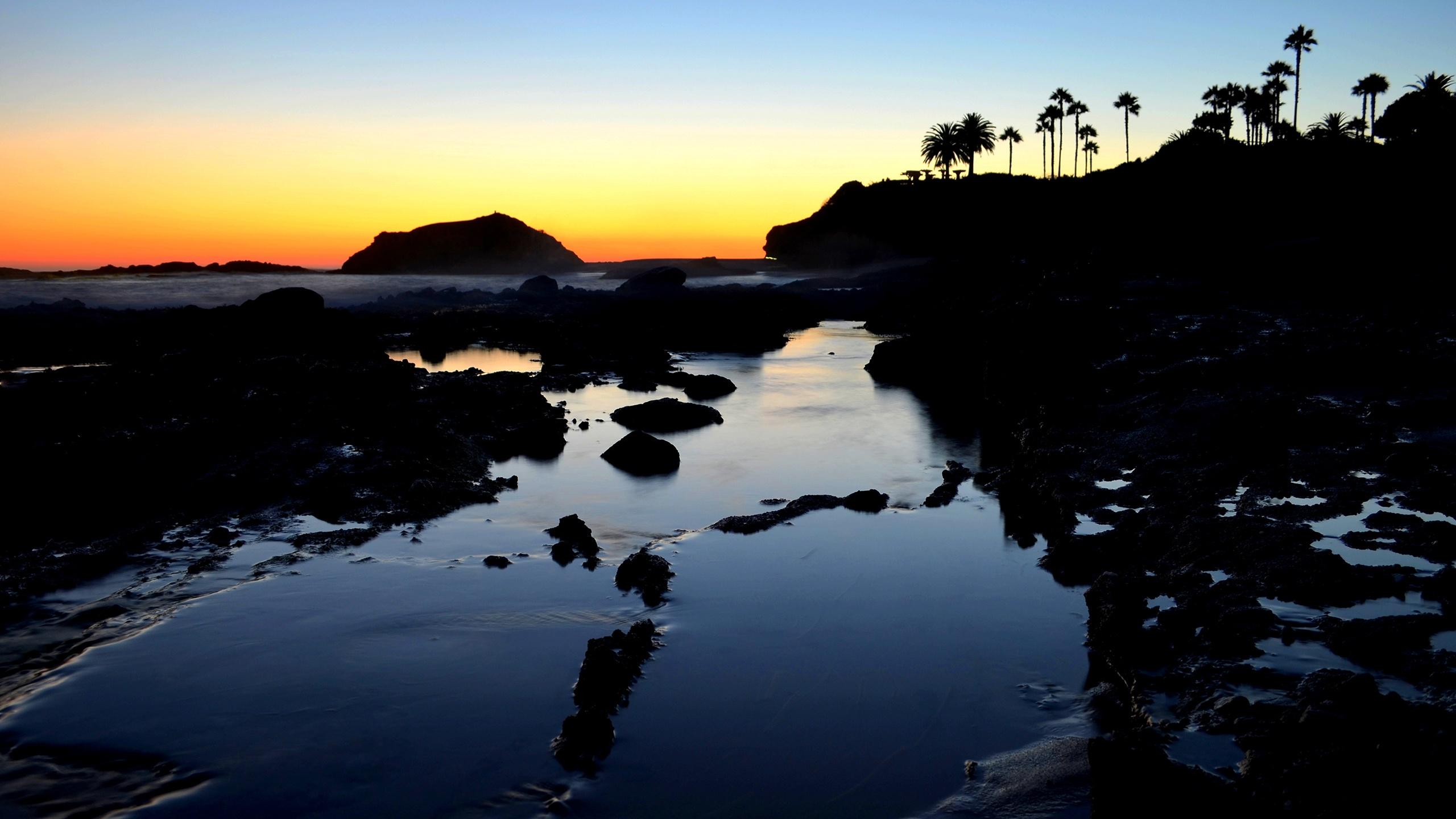 Sunset at Laguna Beach Wallpapers HD Wallpapers 2560x1440