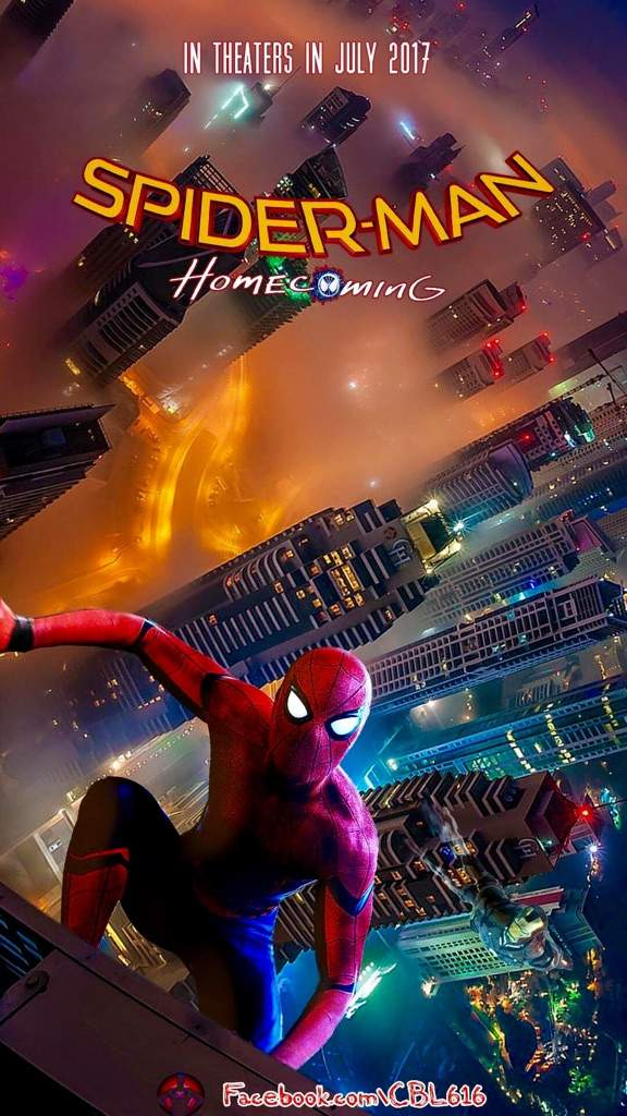 CBL   Spiderman Homecoming Poster Wallpaper Comics Amino 576x1024