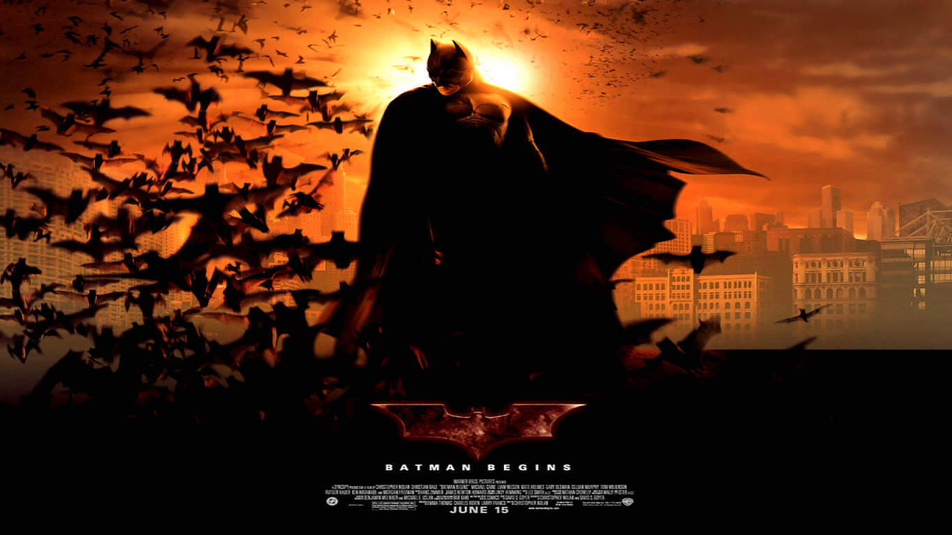 Batman Begins Movie Wallpapers WallpapersIn4knet 1366x768