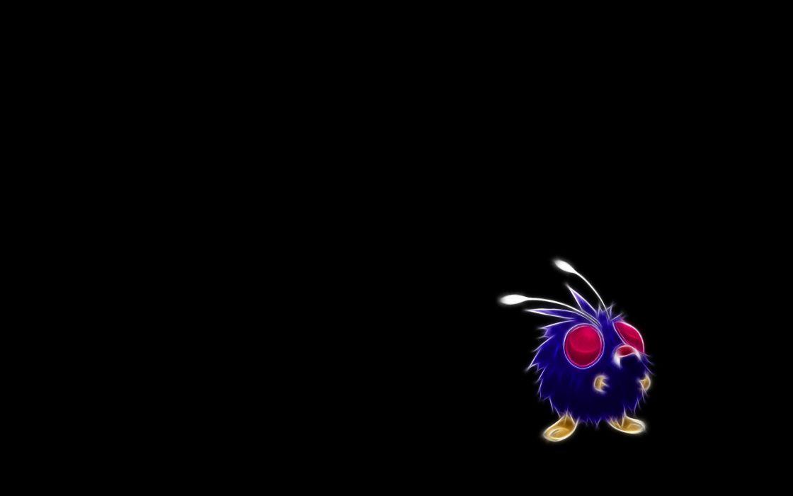 Pokemon Venonat black background wallpaper 1920x1200 285517 1120x700