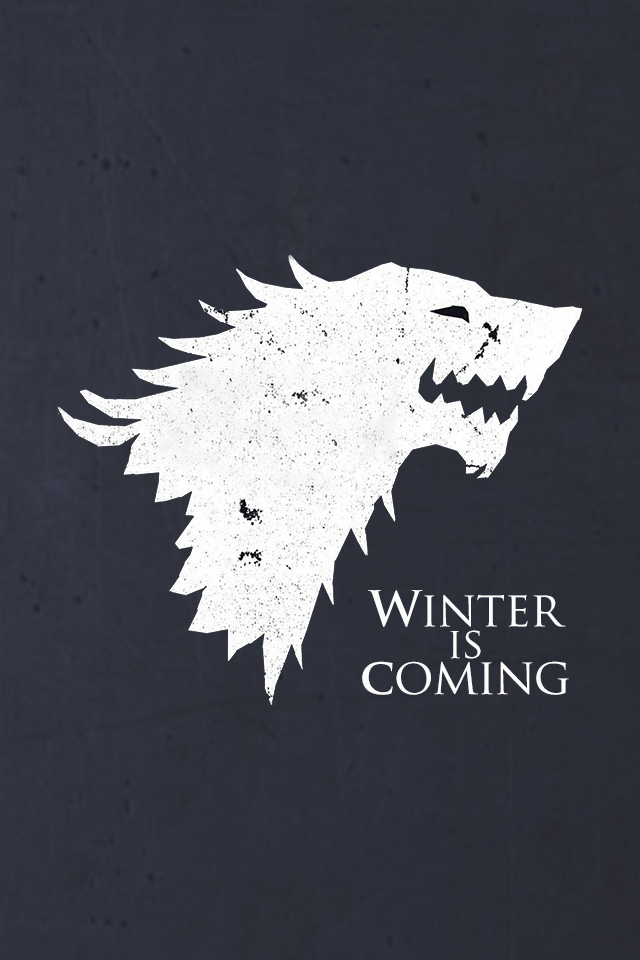 Download Winter Is Coming iPhone Wallpaper 640x960