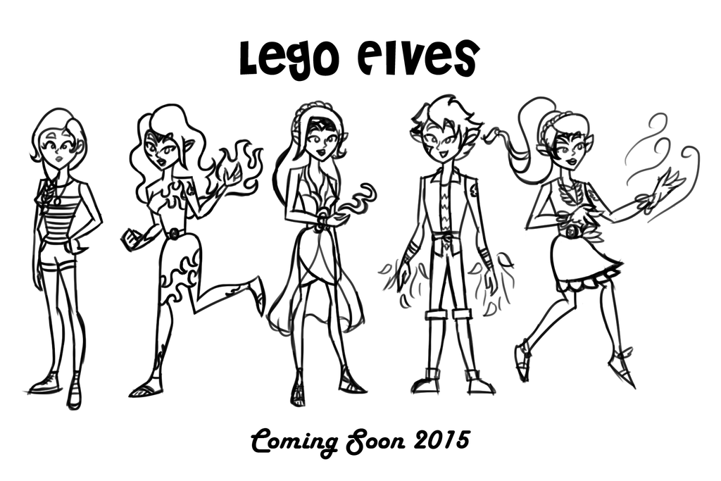 Fine Lego Elves Coloring Pages Photos - Example Resume and ...