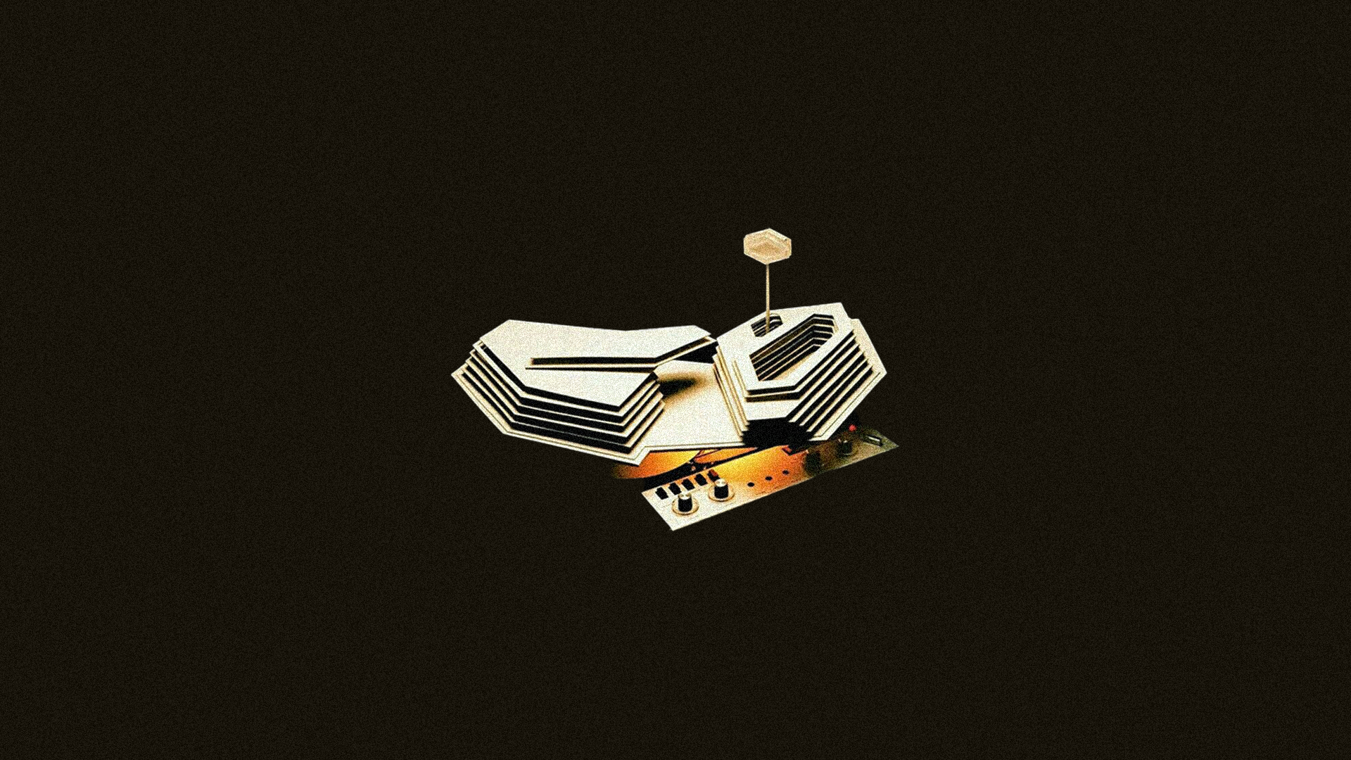 Tranquility Base Hotel Casino minimalist wallpaper for PC 1920x1080