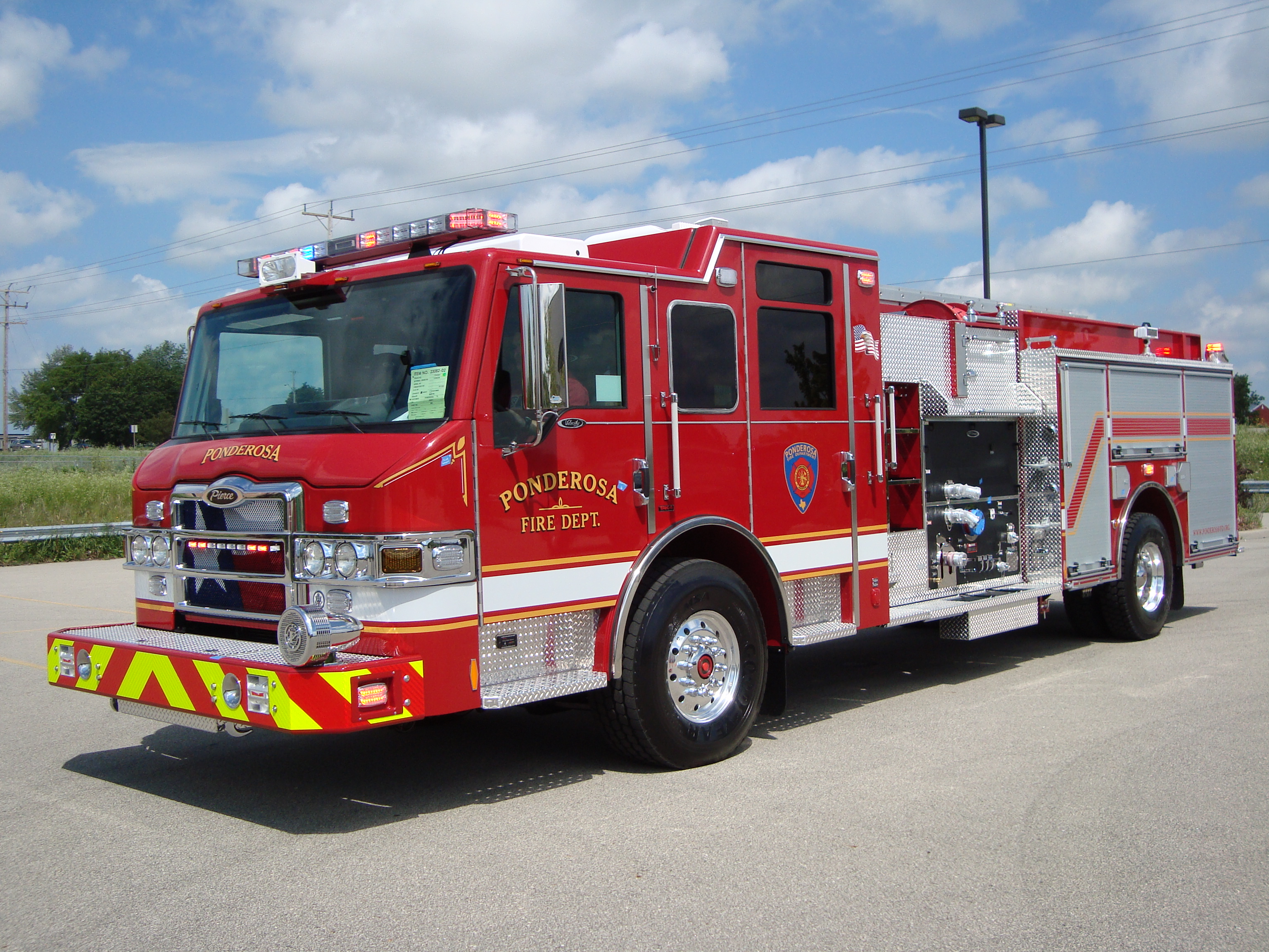 Vehicles   Pierce Fire Truck Truck Fire Truck Fire Engine Wallpaper 3072x2304